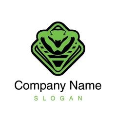 cobra logo vector image