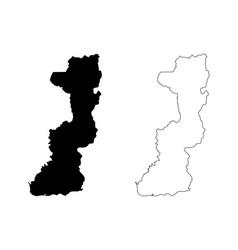 Edirne map vector