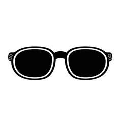 fashion sun glasses vector image