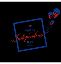 Fourth july background felicitation cool fun vector