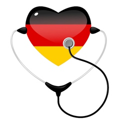 medicine germany vector image