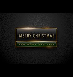 merry christmas and happy new year banner premium vector image