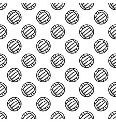 seamless white waterpolo background vector image
