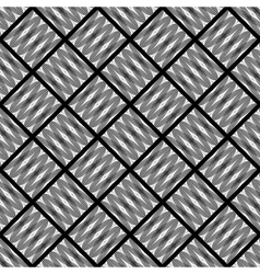 Design seamless monochrome diamond pattern vector image vector image