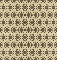 flowers-pattern-retro-seamless-01 vector image vector image