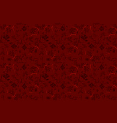 abstract background red vector image