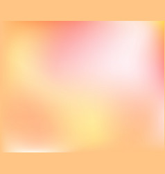 abstract light yellow orange blured gradient vector image