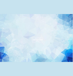 abstract polygonal space background with vector image