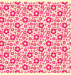 Flower geometric seamless pattern fashion graphic vector