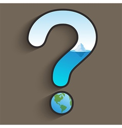 Global Warming Question vector