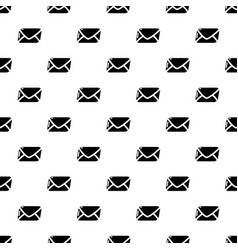Mail pattern seamless vector