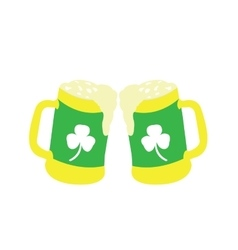 Patrick day icon vector