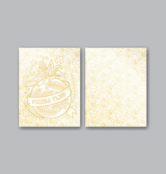 Rosh hashanah greeting cards vector