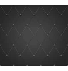 Abstract black rhombus seamless pattern vector image vector image