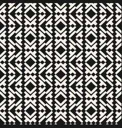 geometric seamless pattern in tribal ethnic style vector image
