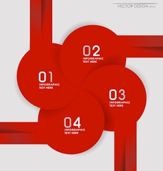 Modern design layout and template vector image vector image