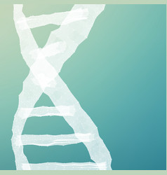 abstract dna mesh background vector image