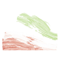 Abstract flag sketch of iran vector