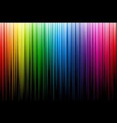 bright multicolor rays abstract vector image