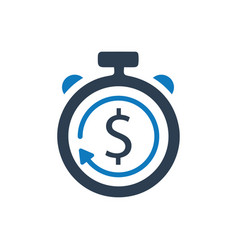 Budget estimate icon vector