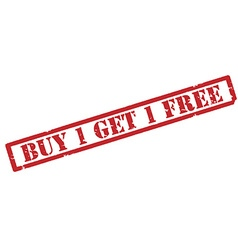 Buy one get one free vector image