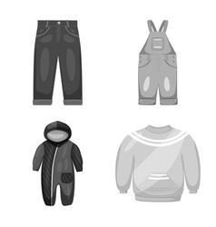 Cloth and apparel icon vector