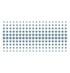Cpu circuit shape halftone pattern vector