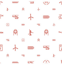 Fuel icons pattern seamless white background vector