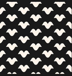 Funky monochrome seamless hipster pattern vector
