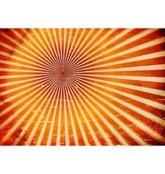 Grungy sun rays vector
