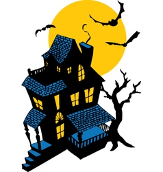 HauntedHouse vector image