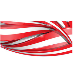 horizontal background flag background vector image