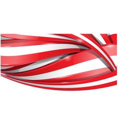 horizontal background flag vetcor background vector image