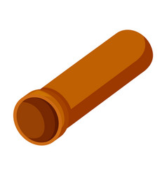 pipe iconcartoon icon isolated vector image