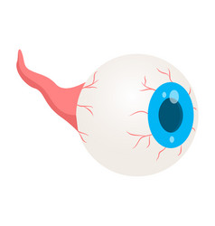 zombie eye icon isometric style vector image