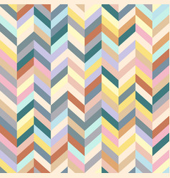 chevron background colorful stripped seamless vector image vector image