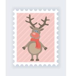 deer mark vector image vector image