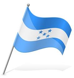 Flag of honduras vector