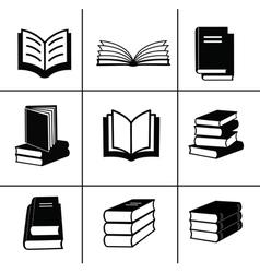 Book design elements vector image vector image