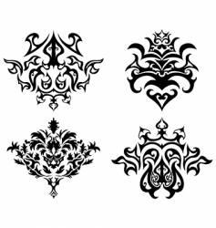 emblem set vector image