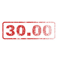 3000 rubber stamp vector image
