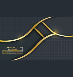 Background modern dark technology with shining vector