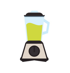 Blender with juice icon vector