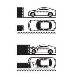 Car crash test vector