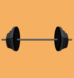Dumbbell color vector