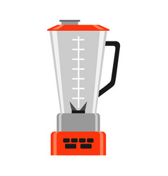 icon kitchen blender vector image