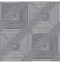 striped distortion vector image