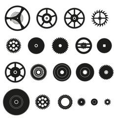 Various cogwheels parts watch movement eps10 vector