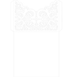 wedding invitation or greeting card with abstract vector image