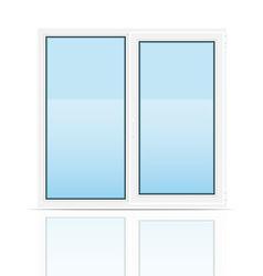 plastic window 01 vector image vector image